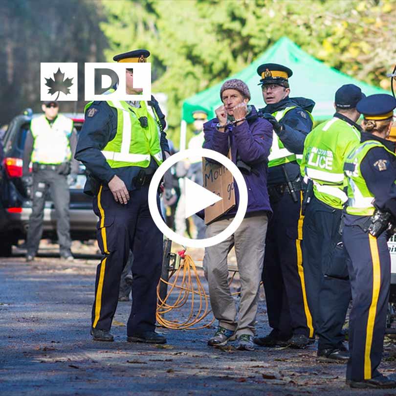 Canadian Rail Blockades